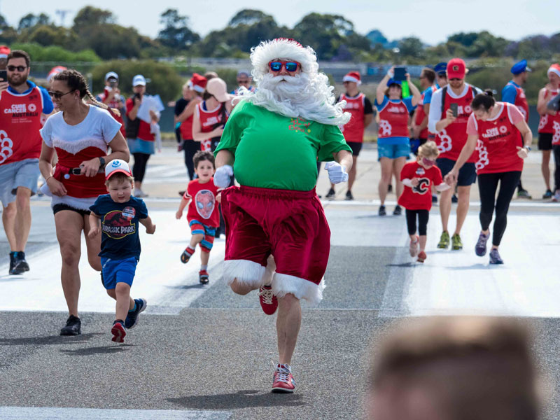 The Real Santa race