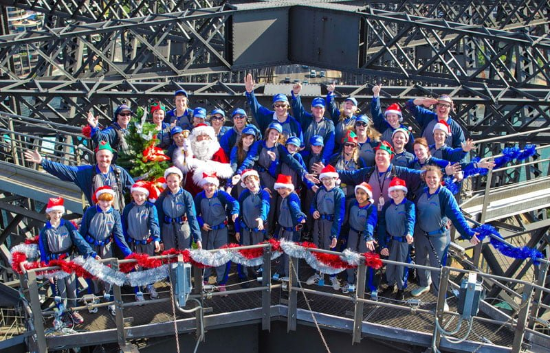 Charity Sydney Harbour Bridge The Real Santa