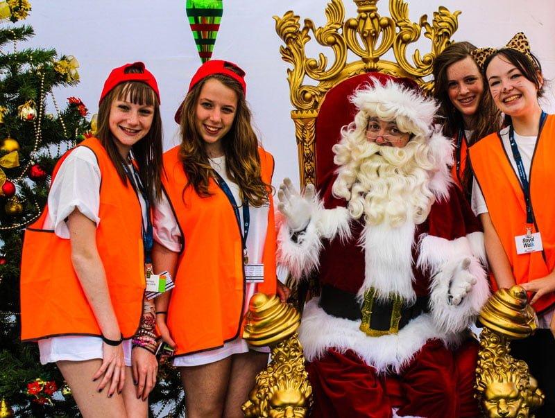Festival Crew The Real Santa Festivals