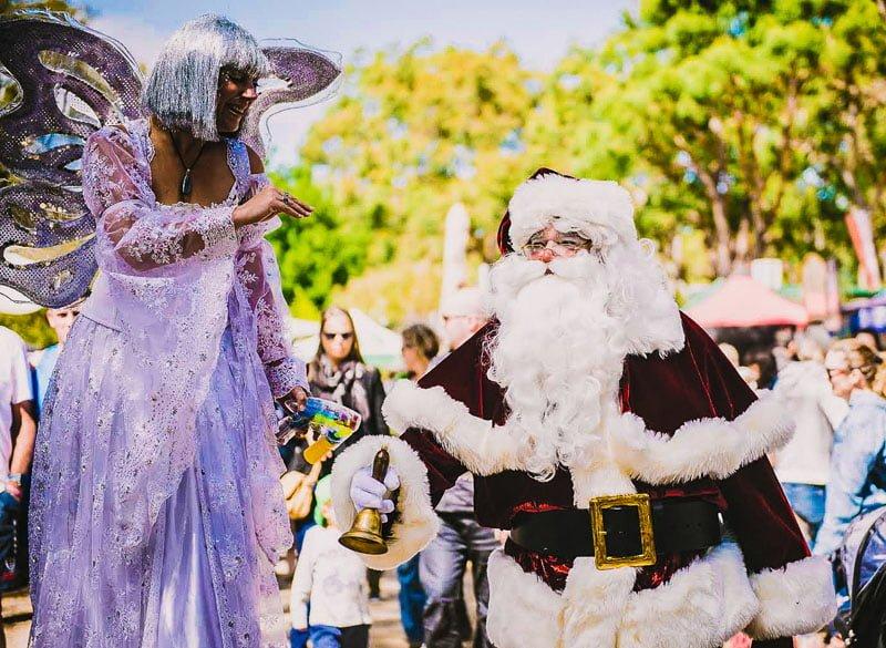 Outdoor Roaming The Real Santa Festivals