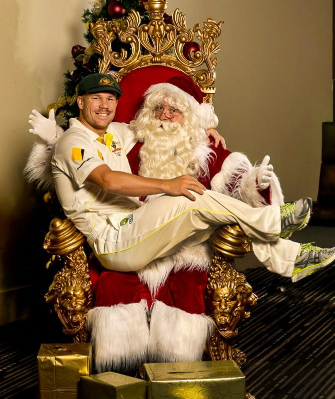 D Warner Herald Sun The Real Santa
