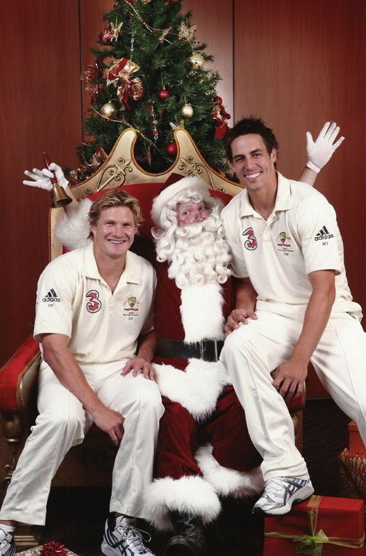S Watson M Johnson Herald Sun The Real Santa