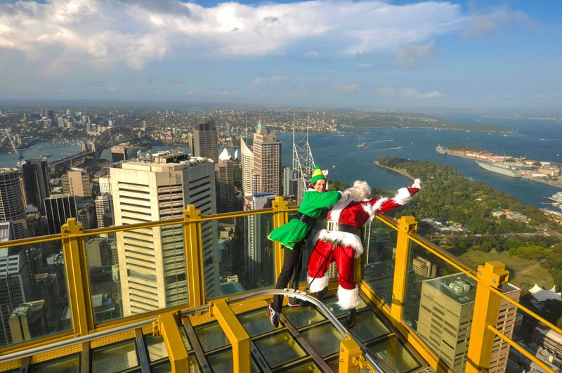 Sydney Paul Tower The Real Santa
