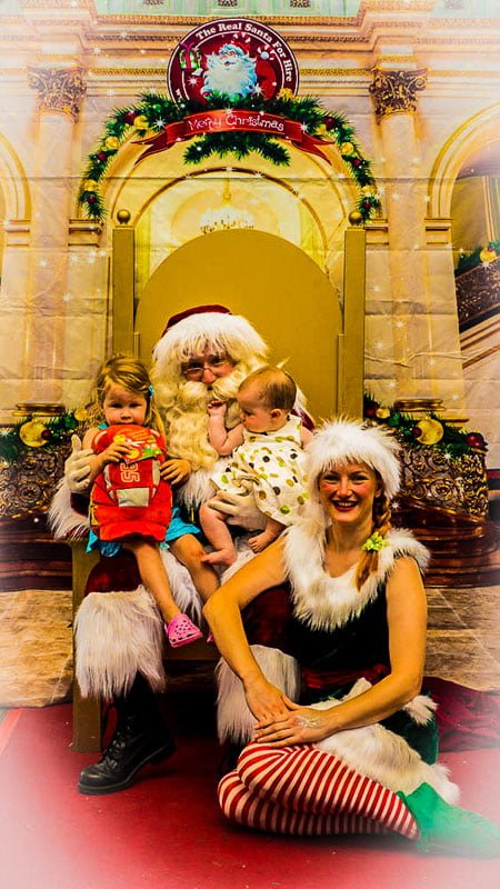 Kids Photos Retail The Real Santa