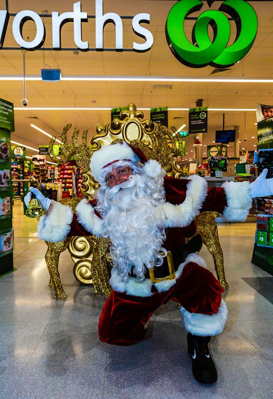 Supermarket Retail The Real Santa