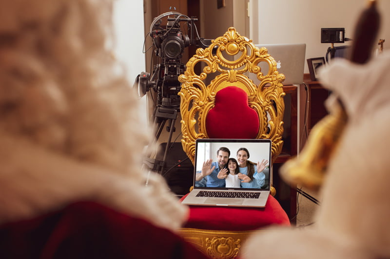 Family Stream The Real Virtual Santa
