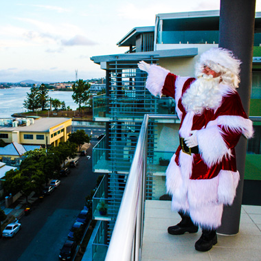 Santa at the Gold Coast