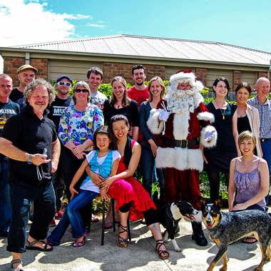 Gold Coast Santa house parties