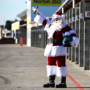 The Real Santa Melbourne Grand Prix