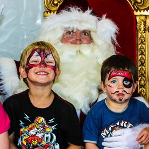 Schools and Kinders The Real Santa