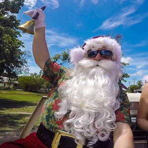 The Real Summer Santa