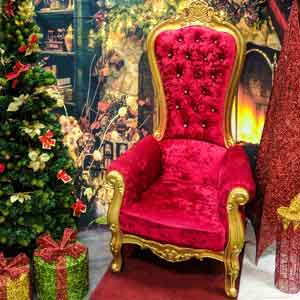 The Real Santa Throne