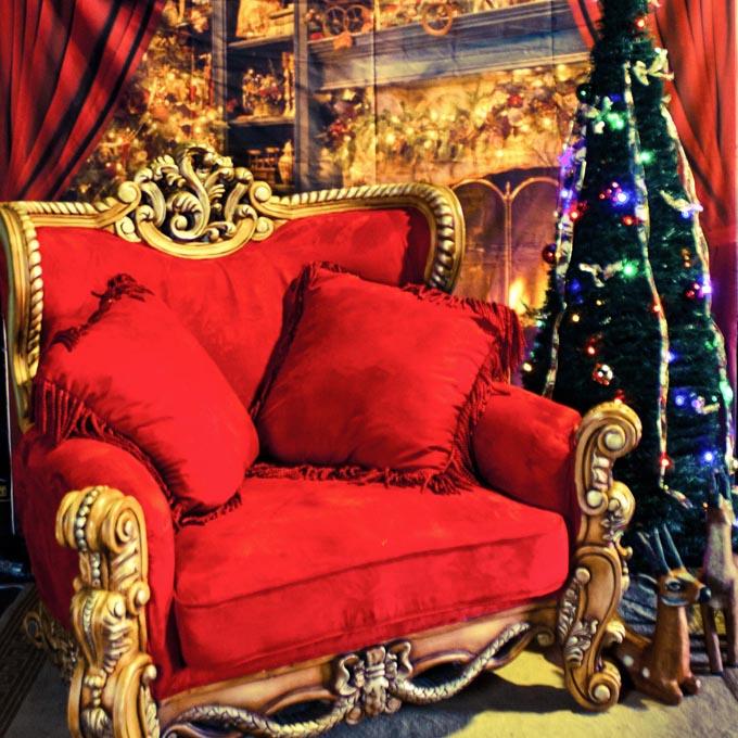 Backdrop Armchair Throne