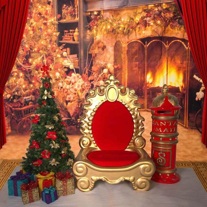 Backdrop Armless Throne Mailbox