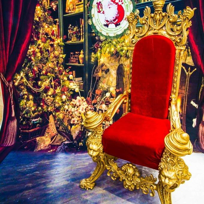 Backdrop Throne