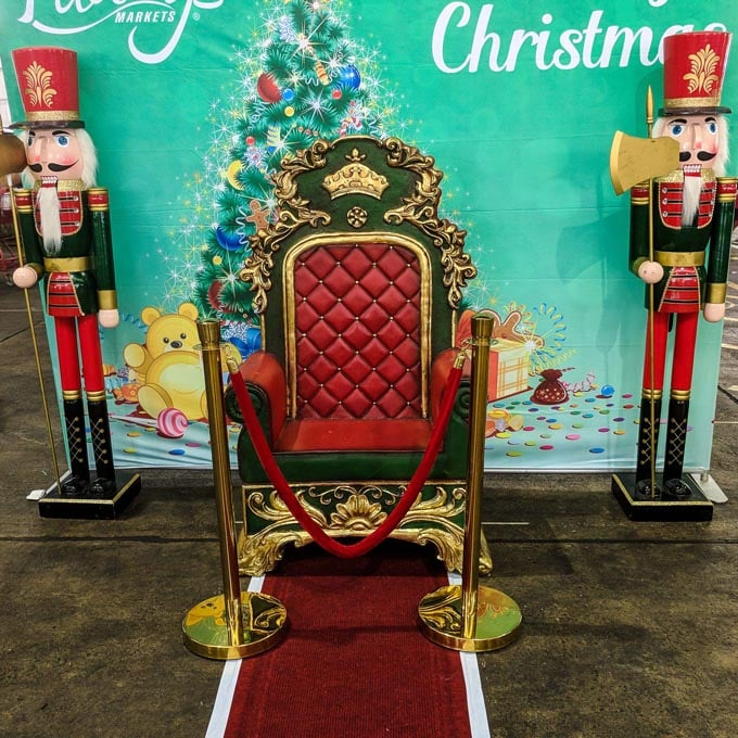 Christmas Bollards Hire