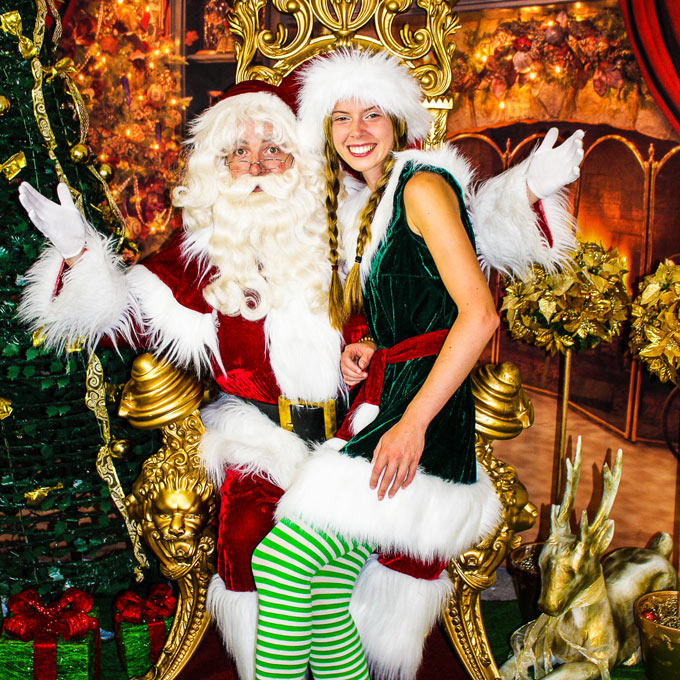 Santa Retail Hire