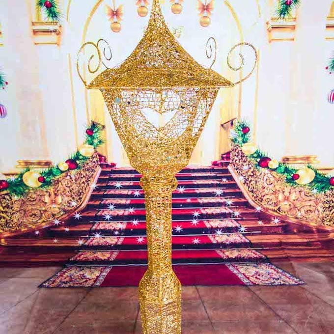 Gold Lamp Props