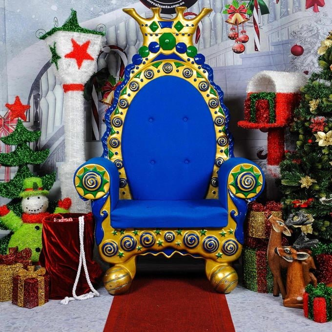 Imperial Throne and decor