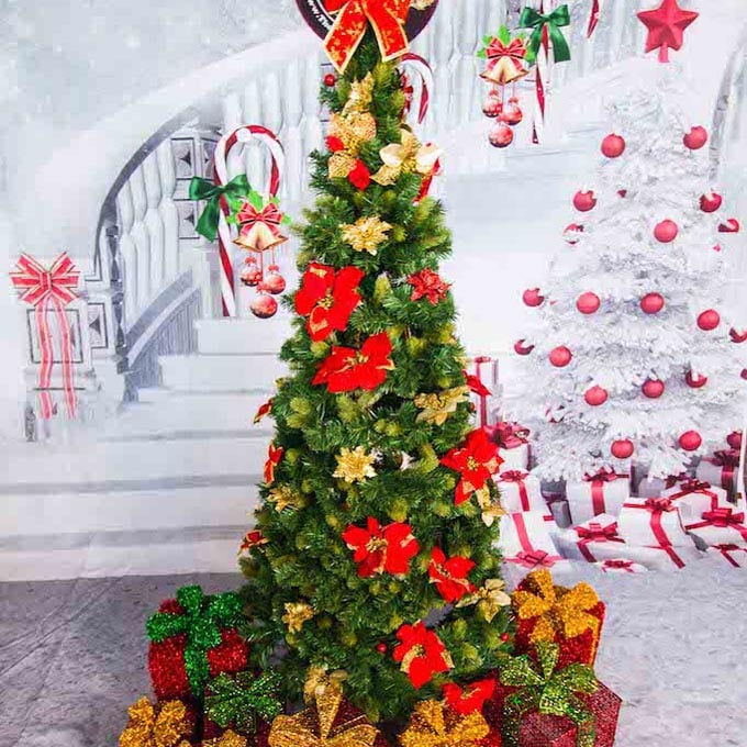 Christmas Tree and Props