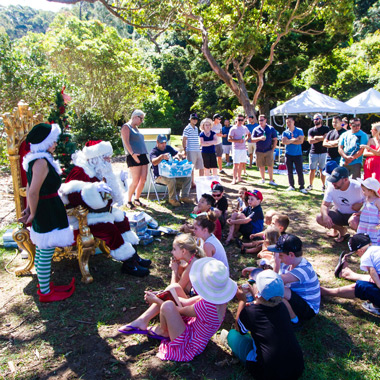 The Real Santa Sydney Private Park Events
