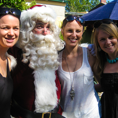 The Real Santa Wollongong Private Kids parties