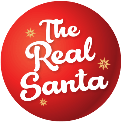 The Real Santa Logo Circle